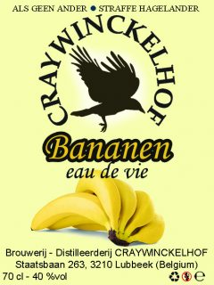 Bananen eau-de-vie