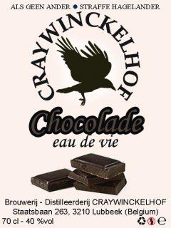 Chocolade eau-de-vie