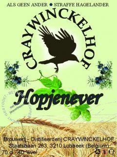 Hop jenever