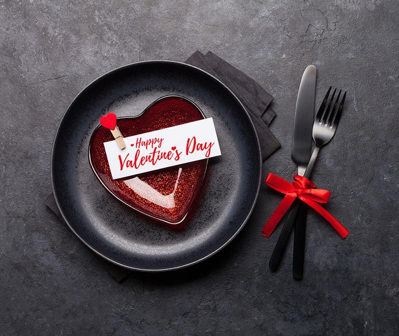 Valentijnsmenu mét overnachting